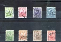 1907/8 Charles I  Graves Mi No 212/219 Et Yv No 207/214 - 1881-1918: Charles I