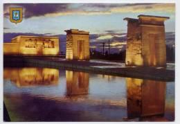 Espagne--MADRID---Temple De Debot ,cpm N°44 éd  L.Dominguez - Madrid