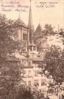 SUISSE GENEVE CATHEDRALE CIRCULEE 1910 - GE Ginevra