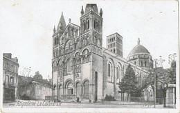 Angoulème     La Cathédrale  Kiosque  Maggi - Musique Et Musiciens