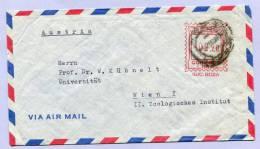 Air Mail Letter Peru Lima To Vienna 1956 ( 109 ) - Peru