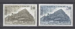 FRANCE - Yv. Nr 63/64 - Conseil De L´Europe - MNH** - Cote 2,25 € - Neufs
