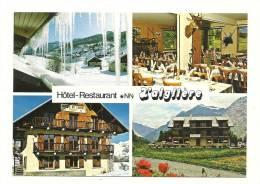 """Cp, Commerce, Hôtel-Restaurant """"L'Aiglière"""", Multi-Vues - Restaurantes"""