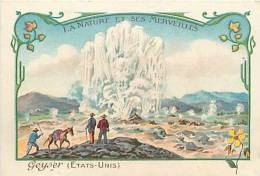 Nov12b 45 : Geyser  -  Nature Et Ses Merveilles - Chromo