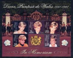 MOLDOVA 1998 Princess Diana Block MNH / **.  Michel  Block 17 - Moldova