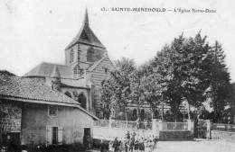 SAINTE MENEHOULD L'église Notre Dame - Sainte-Menehould