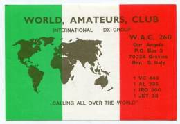 QSL CARDS - AK138256 Italy - Bari - Gravina - Altri