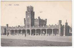 Aalst - Het Station - Geanimeerd - 1911 - Foto H. Bertels, Brussel Nr 1 - Aalst