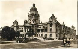 Durban - Town Hall - & Photocard, Rickshaw - South Africa