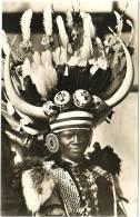 Rikshaw Boy In Durban - & Photocard - South Africa