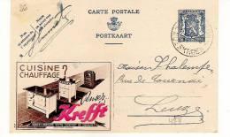 Publibel Obl. N° 474 (Cuisine, Chauffage  Krefft)  Obl: Moeskroen  13/07/1942 - Publibels