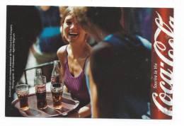 11843 - Pub COCA  COLA -  Sourire La Vie (CP écrite). - Cartes Postales