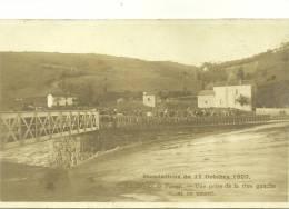 1 - La Digue De PINAY - Inondations Du 17 Octobre 1907 - Vue Prise De La Rive Gauche Et En Amont - Otros Municipios