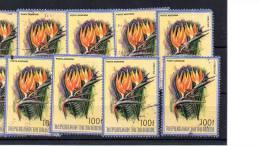 Burundi 1986,  Fleurs D'Afrique, Entre 944 Et PA558  Ø - 1980-89: Oblitérés