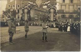 Carte Photo  Caen 14 Calvados Armistice 1918 Vente 2 - Caen