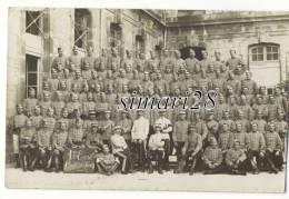 CARTE-PHOTO MILITAIRE - 6eme CAPITAINE DE FOURTOU - Regiments