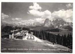 Seiseralm - Post St. Ulrich - Gröden  -   Ristorante Stazione Funivia Alpe Di Siusi - Italien