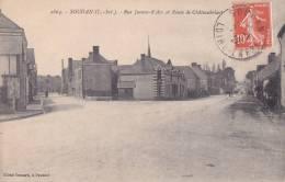 ¤¤  -   2664   -  SOUDAN   -   Rue Jeanne-d'Arc Et Route De Chateaubriant   -  ¤¤ - France