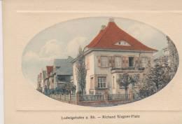 CPA   LUDWIGSHAFEN  A. RH;   -   ,Richard Wagner  Platz - Ludwigshafen