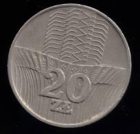 POLAND 20 ZLOTYCH 1973 - Poland