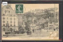 FRIBOURG - LA GENDARMERIE - B ( GRATTAGE EN BAS A DROITE ) - FR Fribourg
