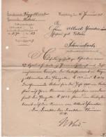 Lettre  Schnirlach..  Lapoutroie  Urbeis Orbey - Manoscritti