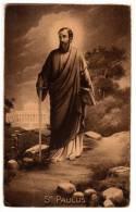 CHRISTIANITY SAINTS ST. PAULUS NB Nr. 5073 OLD POSTCARD - Saints