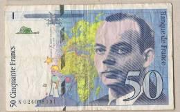 Francia - Banconota Circolata Da 50 Franchi - 1994 - 1992-2000 Ultima Gama