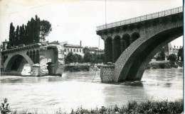 26 - ROMANS - Carte Photo  Du PONT NEUF   Coupé Par Le Génie En Juin 1940 - Romans Sur Isere