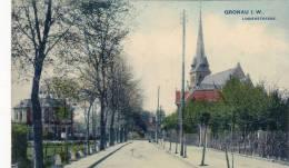 860/ Oude Kaart Gronau I. W. Lindenstrasse, 1912 - Gronau