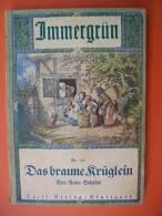 """Gebundener Sammelband Mit 6 Ausgaben """"Immergrün"""" (Erzählungen Ca. Um 1910) - Christianisme"""