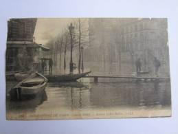 CPA - 75 - INONDATIONS DE 1910 - PARIS - AVENUE LEDRU-ROLLIN  ( Usé ) - De Overstroming Van 1910