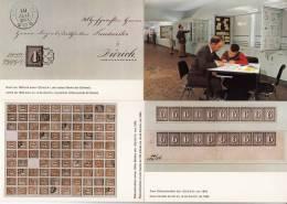 12 Postkarten - Altschweiz - Wertzeichensammlug PTT ° 12 CP - Suisse Classique - Collection De Timbres-poste PTT - Timbres (représentations)