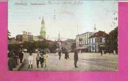 HAMBURG  -  * DER ZEUGHAUSMARKT IN 1908 *  -  Verlag : A.N. Aus HAMBURG  N°3 - Altona