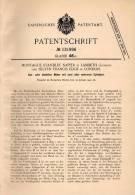 Original Patentschrift - Montague Standley Napier In Lambeth , London , 1900 , Motor Mit Mehreren Cylindern !!! - Tools