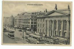O ' Connel Street , Plan Animé Tramway Gros Plan, Publicité - Dublin