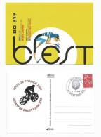 2 C- CYCLISME -  BREST  - DEPART DU TOUR DE FRANCE 5 Juillet 2008 - Cycling