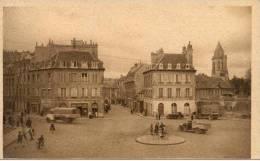 Cpa Caen 14 Calvados La Rue Ecuyere - Caen