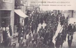 Guerre Franco-Allemande En 1914 - BOUGUENAIS - Prisonniers Allemands Arrivant Aux COUET Près De Nantes - Bouguenais