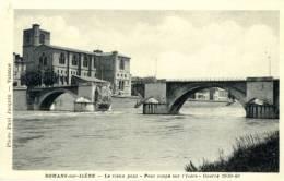 26 - ROMANS - Rare Carte Du Vieux Pont,  Coupé Par Le Génie En Juin 1940 - Romans Sur Isere