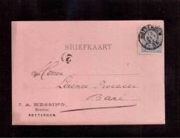 TEM8163  -  OLANDA  STORIA POSTALE  -  INTERO AFFRANCATO CON IL NR. 35  (CAT.UNIFICATO) -  13.9.1894 - Periode 1891-1948 (Wilhelmina)