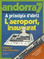 ANDORRA SETMANARI D´INFORMACIÓ DEL PRINCIPAT Nº 63. DEL 2 AL 8 DE FEBRERO 1980 - Documentos Históricos