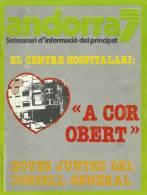 ANDORRA SETMANARI D´INFORMACIÓ DEL PRINCIPAT Nº 61. DEL 19 AL 25  DE ENERO 1980 - Documentos Históricos