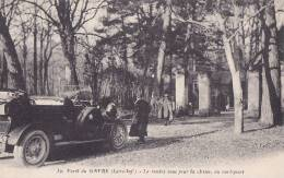 ¤¤  -  30   -  FORET Du GAVRE   -  Le Rendez-vous Pour La Chasse , Au Rond-Point   -  ¤¤ - Le Gavre