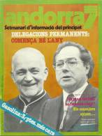 ANDORRA  7 SETMANARI D´INFORMACIÓ DEL PRINCIPAT Nº 60. DEL12  AL 18  DE ENERO DEL  1980 - Documentos Históricos