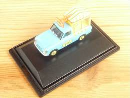 Oxford 76ANG002, Ford Anglia Walls Ice Cream, 1:76 - Véhicules Routiers