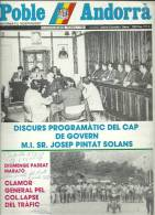 ANDORRA   - POBLE ANDORRA DIVENDRES O8.06.84 NUMERO 1.150 - Documentos Históricos