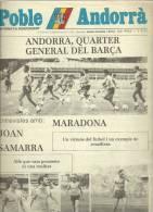 ANDORRA   - POBLE ANDORRA DIVENDRES 5.9.83 NUMERO 1.106 - Documentos Históricos