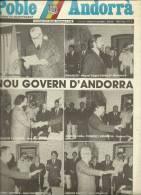 ANDORRA   - POBLE ANDORRA DIVENDRES 01.01.84 NUMERO 1.149 - Documentos Históricos