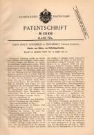 Original Patentschrift - J. Goodbun In Piccadilly , London , 1901 , Golf - Schlägertasche !!! - Bekleidung, Souvenirs Und Sonstige